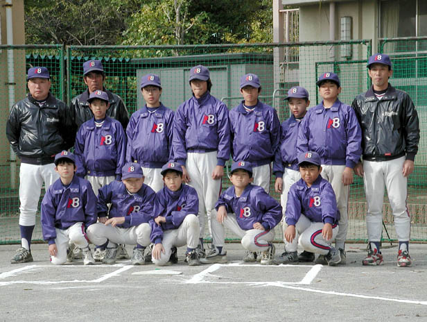 2000年 Aチーム集合写真