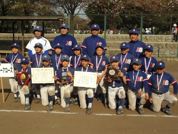 川崎市少年野球連盟 20周年記念 春季大会 優勝