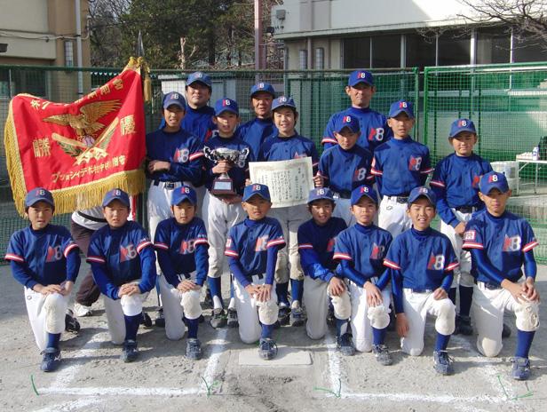2009年 宮前区南部リーグ優勝