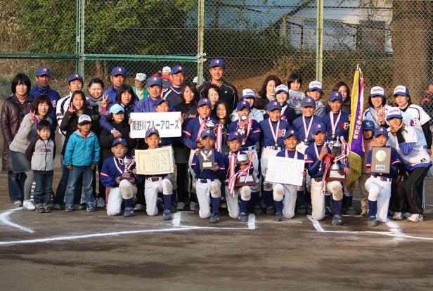 2010年 宮前区春季少年野球大会 優勝