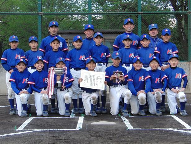高円宮賜杯 第30回 全日本学童軟式野球大会 川崎市大会 優勝