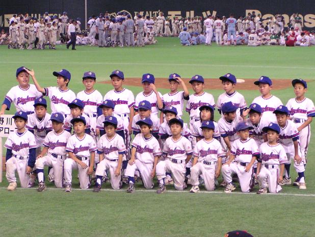 2003年 関東少年野球大会 東京ドーム開会式